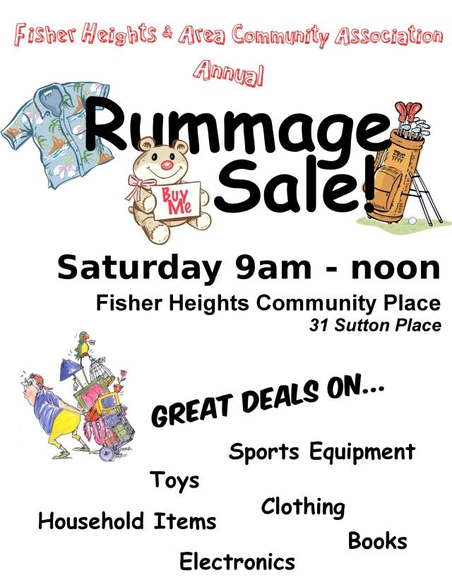 Rummage Sale Mini Poster