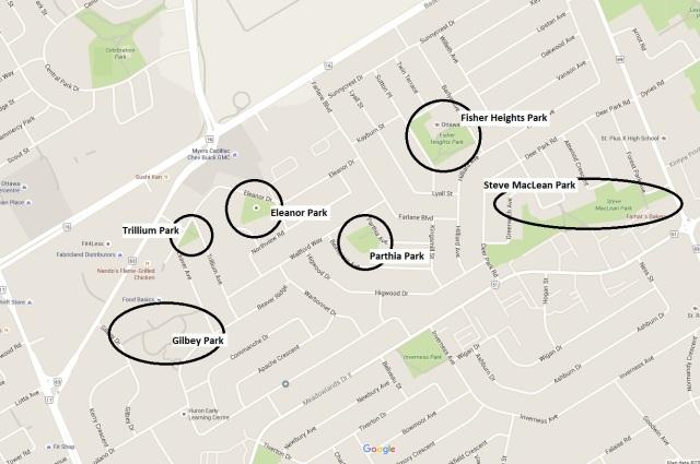 FHACA Parks Map