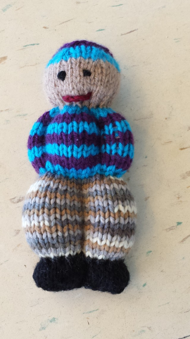 Picture 5: Another Izzy Doll is complete.