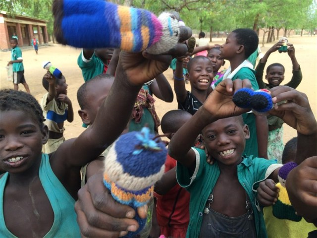 Izzy Dolls in Malawi